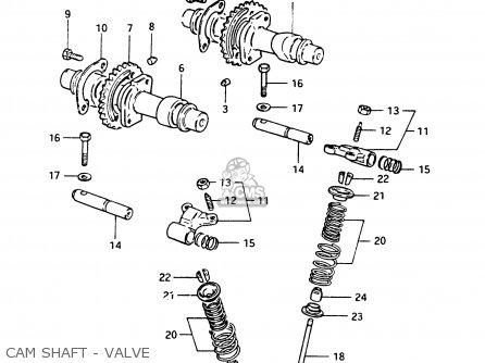 Suzuki Gsx400t 1983 (d) General Export (e01) parts list