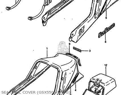 Suzuki Gsx550es 1986 (g) (e01 E02 E21 E22 E25 E34) parts