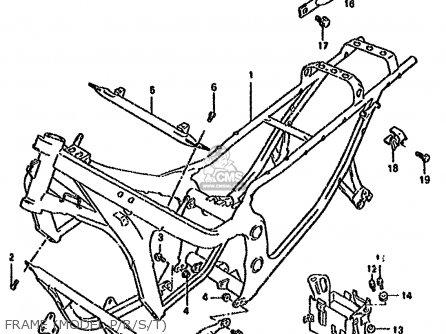 Suzuki GSX600F 1991 (M) (E01 E02 E04 E15 E16 17 18 21 22