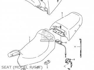 Suzuki GSX600F KATANA 1988 (J) USA (E03) parts lists and