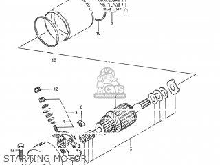 Suzuki Gsx600f Katana 1988 (j) Usa (e03) parts list