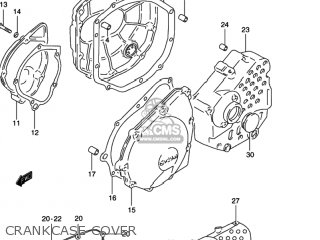 Suzuki GSX600F KATANA 1997 (V) USA (E03) parts lists and