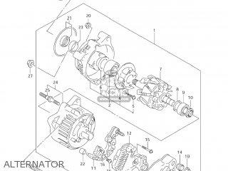 Suzuki GSX600F KATANA 2005 (K5) USA (E03) parts lists and