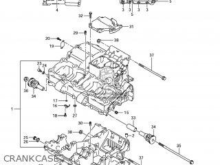 Suzuki GSX650F 2009 (K9) USA (E03) parts lists and schematics