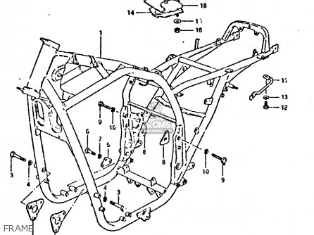 Suzuki GSX750 1981 (X) (E01 E02 E06 E22 E24) parts lists