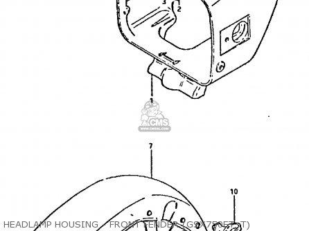 Suzuki GSX750 1981 (X) (E01 E02 E06 E22 E24) parts lists