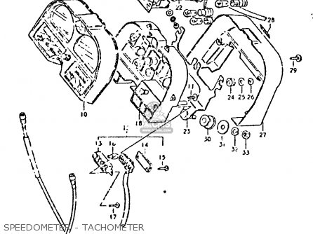 Suzuki Gsx750 1981 (x) (e01 E02 E06 E22 E24) parts list