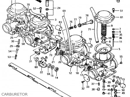 Suzuki Gsx750 1983 (esd) parts list partsmanual partsfiche