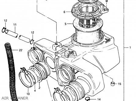 Suzuki Gsx750 1984 (efe) parts list partsmanual partsfiche