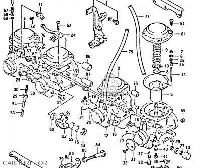 Suzuki Gsx750 1984 (se) parts list partsmanual partsfiche