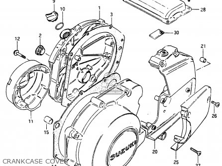 Suzuki Gsx750 1986 (esg) parts list partsmanual partsfiche