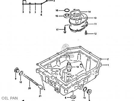 Suzuki Gsx750 1990 (fl) parts list partsmanual partsfiche