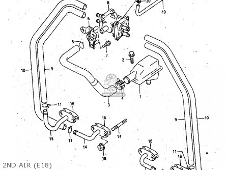 Suzuki Gsx750 1998 (fw) parts list partsmanual partsfiche