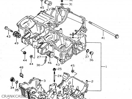 Suzuki GSX750 1999 (X) (E02 E04 E17 E18 E22 E25 E34) parts