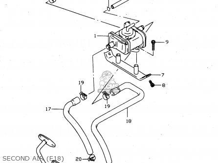 Suzuki GSX750 2000 (Y) parts lists and schematics