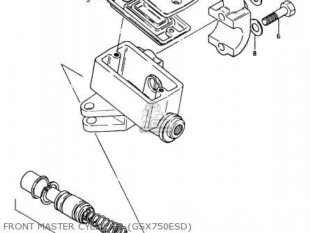 Suzuki Gsx750e 1984 (e) (e01 E02 6 15 16 17 18 21 22 24 25