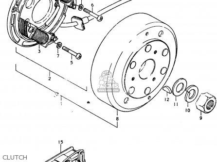 Suzuki GSX750ES 1983 (D) 1 2 4 6 15 16 17 18 21 22 24 25