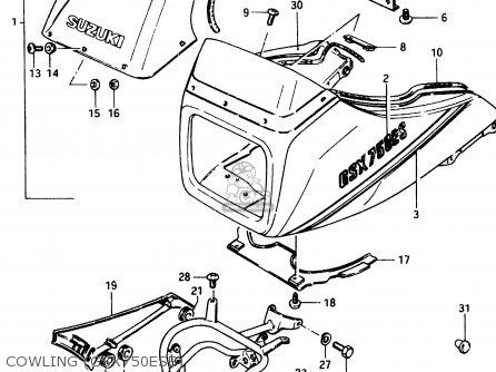 Suzuki GSX750ES 1984 (E) (E01 E02 4 6 15 16 17 18 21 22 24