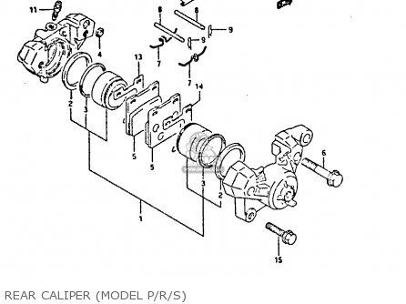 Suzuki GSX750F 1994 (R) (E01 E02 E15 E16 E17 E18 E21 22 24