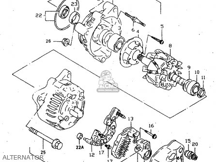 Suzuki Gsx750f 2000 (y) parts list partsmanual partsfiche