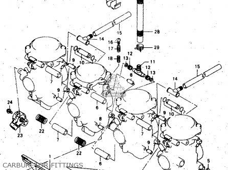 Suzuki GSX750F 2000 (Y) parts lists and schematics