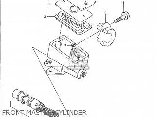 Suzuki GSX750F KATANA 1989 (K) USA (E03) parts lists and