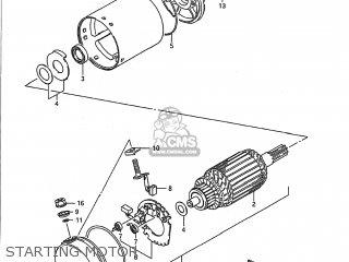 Suzuki Gsx750f Katana 1989 (k) Usa (e03) parts list
