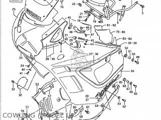 Suzuki GSX750F KATANA 1991 (M) USA (E03) parts lists and