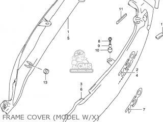 Suzuki Gsx750f Katana 1998 (w) Usa (e03) parts list