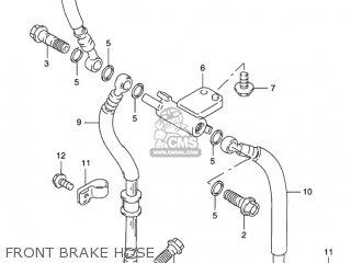 Suzuki GSX750F KATANA 1998 (W) USA (E03) parts lists and