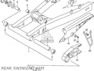 Suzuki GSX750F KATANA 2001 (K1) USA (E03) parts lists and