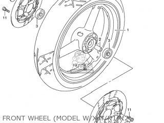 Suzuki GSX750F KATANA 2002 (K2) USA (E03) parts lists and