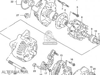 Suzuki GSX750F KATANA 2003 (K3) USA (E03) parts lists and