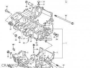 Suzuki Gsx750f Katana 2005 (k5) Usa (e03) parts list