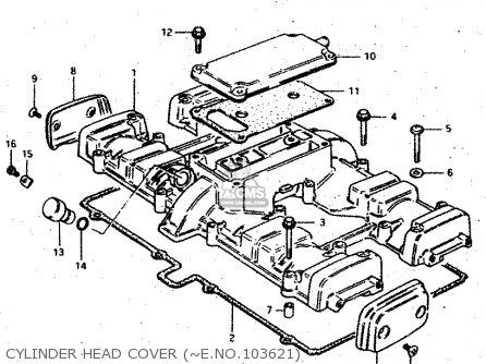 Suzuki GSX750S 1983 (D) (E01 E02 E04 E06 E18 E21 E22 E24