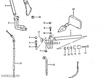 Suzuki GSX750S 1984 (E) UNITED KINGDOM (E02) parts lists