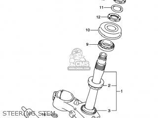Suzuki Gsxr1000 2001 (k1) Usa (e03) parts list partsmanual