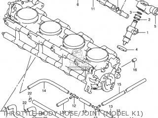 Suzuki GSXR1000 2001 (K1) USA (E03) parts lists and schematics
