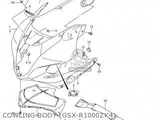 Suzuki Gsxr1000 2003 (k3) Usa (e03) parts list partsmanual