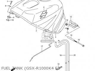 Suzuki GSXR1000 2004 (K4) USA (E03) parts lists and schematics
