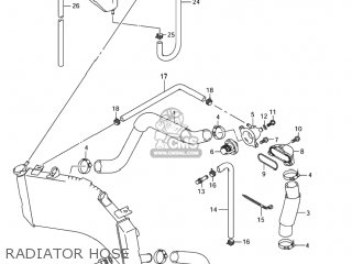 Suzuki GSXR1000 2004 (K4) USA (E03) parts lists and schematics