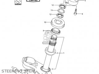 Suzuki Gsxr1000 2004 (k4) Usa (e03) parts list partsmanual
