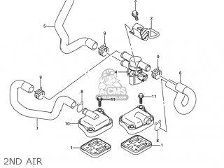 Suzuki GSXR1000 2005 (K5) USA (E03) parts lists and schematics