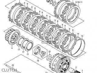 Suzuki Gsxr1000 2005 (k5) Usa (e03) parts list partsmanual
