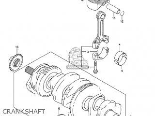 Suzuki GSXR1000 2005 (K5) USA (E03) parts lists and schematics