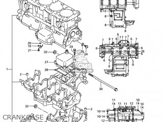 Suzuki GSXR1000 2006 (K6) USA (E03) parts lists and schematics