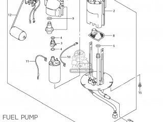 Suzuki GSXR1000 2007 (K7) USA (E03) parts lists and schematics
