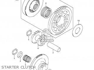 Suzuki GSXR1000 2008 (K8) USA (E03) parts lists and schematics