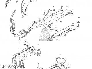 Suzuki GSXR1000 2009 (K9) USA (E03) parts lists and schematics