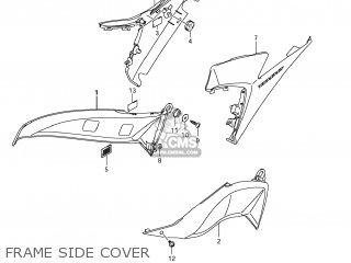 Suzuki GSXR1000 2011 (L1) USA (E03) parts lists and schematics